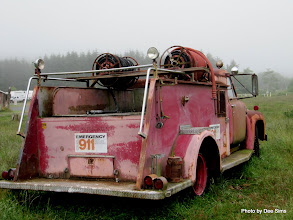 Photo: (Year 2) Day 361 - Old Fire Enigne, Near Humboldt State Park #2