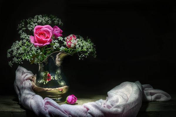 pink roses di Bondgirl