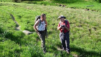 Photo: Les deux Christians dont le chasseur de vipère à droite