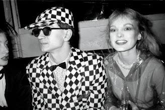 Photo: Pascale Ogier, Benjamin Baltimore et Arielle Dombasle au Palace, 1979.
