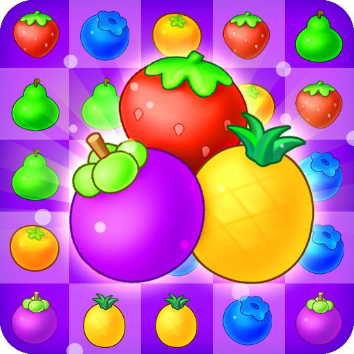 Fruits Farm - Garden Match 3 Game