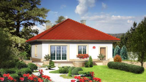 projekt Dom przy Barwnej
