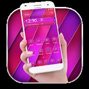 App Pink Purple Line Theme APK for Kindle