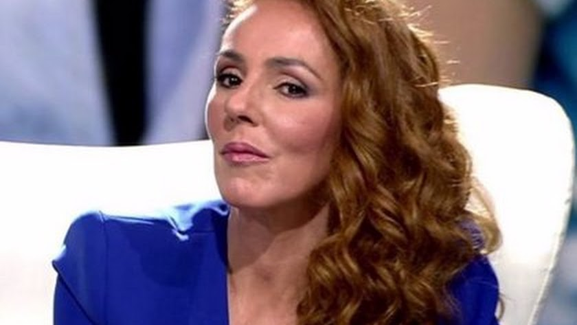 Rocío Carrasco durante su documental.