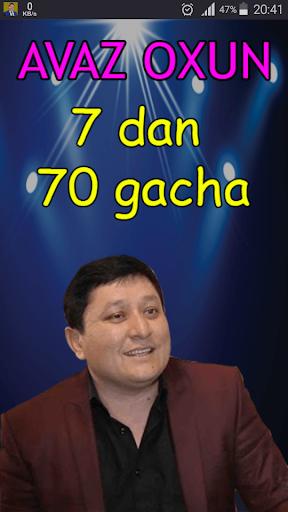 Avaz Oxun - 7 dan 70 gacha 3.0 screenshots 1