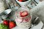 Strawberry Overnight Oats With Honey And Flaxseed Recipe
