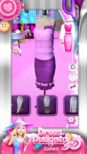 Dress Designer Game for Girls 4.0.1 screenshots 3