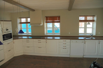 Photo: Køkkenet var pænt, så det blev solgt først, da nedbrydningen startede.