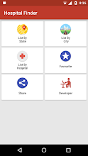 Hospital Finder screenshot thumbnail