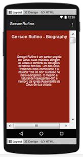 Gerson Rufino Top Songs & Hits Lyrics. - náhled