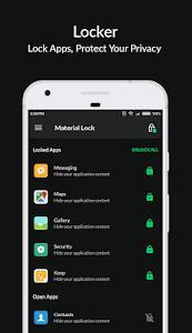 Applock Material - Lock Apps, PIN & Pattern Lock 2.5.4 (Pro)