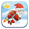 Flying Santa Live Games icon