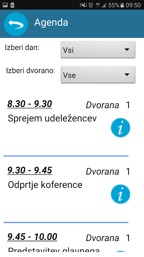 Industrijski forum IRT- screenshot