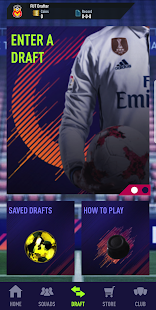 Draft Simulator for FUT 18 - náhled