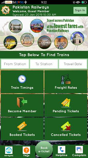 Pakistan Railways Official 4.4 screenshots 1