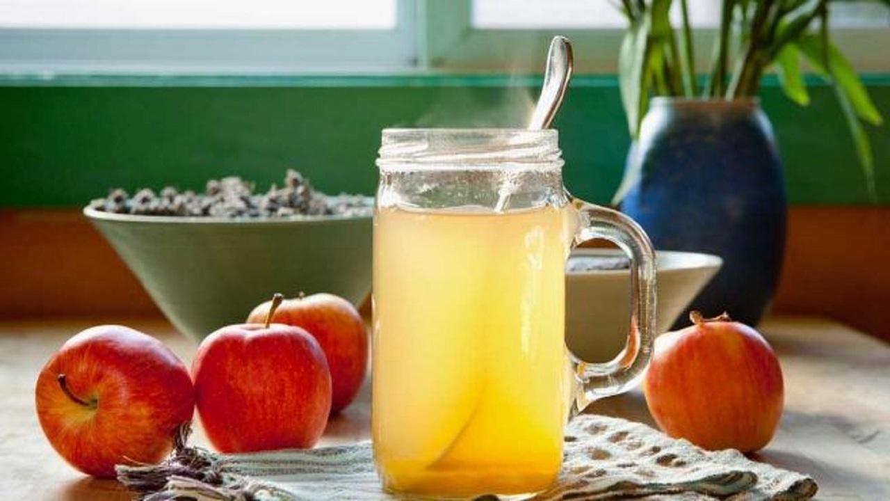 # Honey and apple cider vinegar