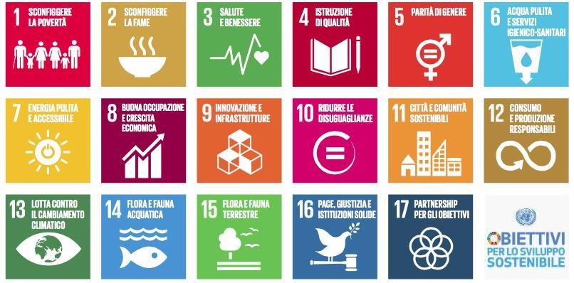 17 obiettivi sviluppo sostenibile