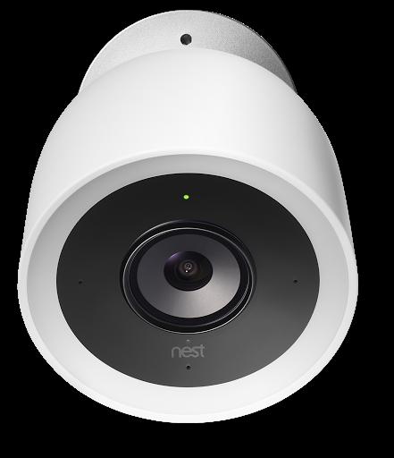 Einige Schlüsselfunktionen der Nest Cam IQ-Außenkamera tragen zu einer besseren Umweltverträglichkeit bei.