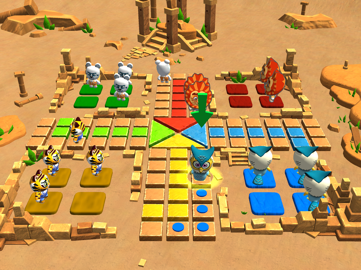 3d ludo game play online