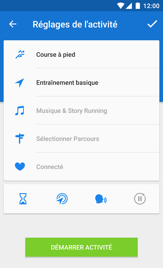 Runtastic PRO Course & Fitness – Applications Android sur ...