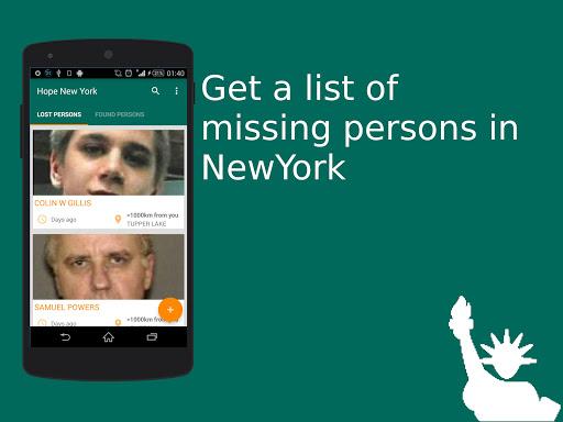 Hope New York - Missing people