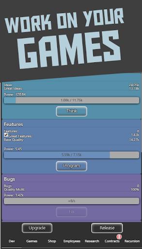 Idle Idle GameDev 1.0.112 screenshots 1