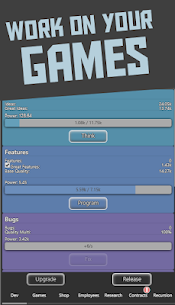 Idle Idle GameDev MOD APK 1.0.112 [No Ads] 1