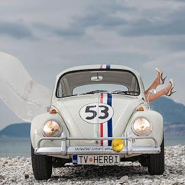 Herbie by Veri Veroza - Wedding Reception ( montenegro, wedding, sea, beach, bar, bride )