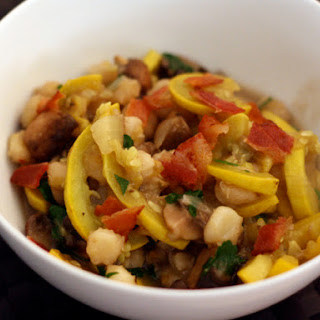 Squash and Mushroom Hominy Recipe