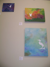"""Photo: *New Painting as of Aug 1* """"Wading Egret"""" - (SOLD) 18 x 24"""""""