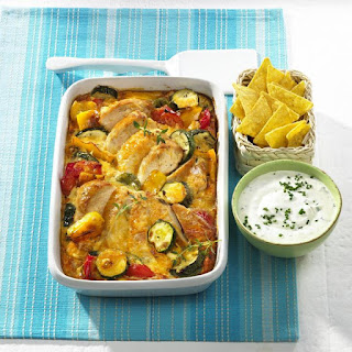 Summer Chicken and Vegetable Casserole.