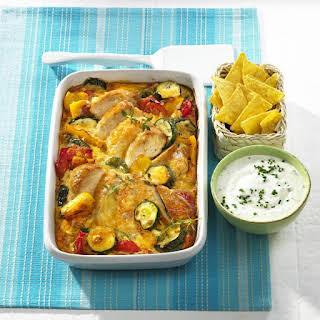 Summer Chicken and Vegetable Casserole.