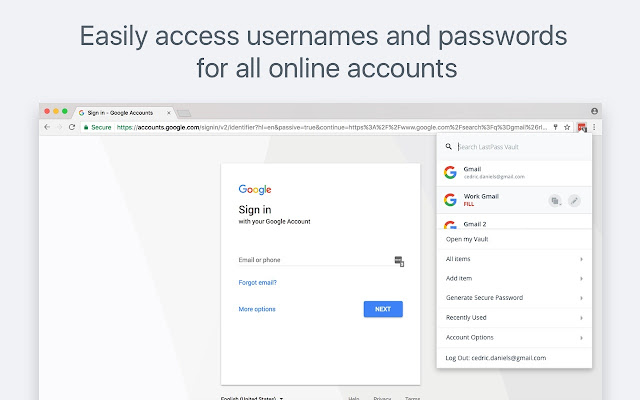 LastPass: Free Password Manager - Chrome Web Store