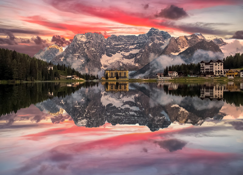 Misurina Lake reflection's di alexgen2
