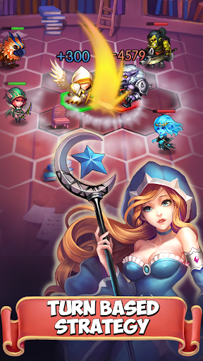 Mythiventures (Heroes Tactics) v1.1.0 APK+DATA (Mod ALL)