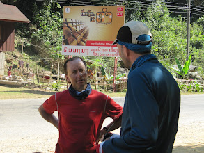 Photo: Day 302 - Dan & Bas on the Road to Vang Vieng