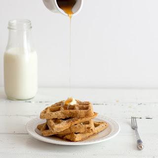 Single Lady Oat Waffles {gluten free, vegan}