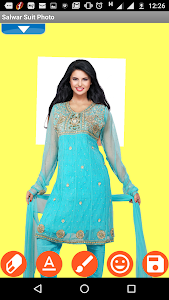 Salwar Suit Photo Shoot screenshot 2