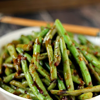 Copycat PF Chang's Spicy Green Beans.