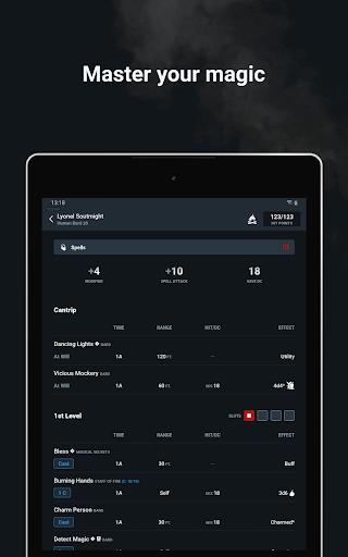 D&D Beyond Player Tools screenshot 14