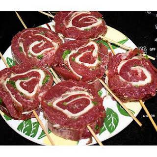 Steak Pinwheels.
