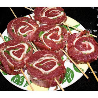 Steak Pinwheels.