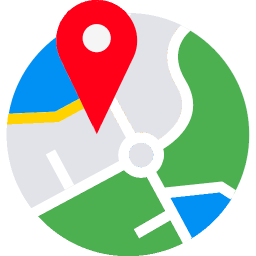 My Location: GPS Maps, Share location, Save places Icon