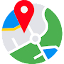 My Location: GPS Maps, Share & Save Locations APK icon