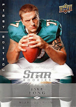 Photo: Jake Long 2008 Upper Deck First Edition RC