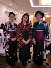 Photo: 卒業式② 3月24日 水沼主将、金城副将、相京女子マネージャー