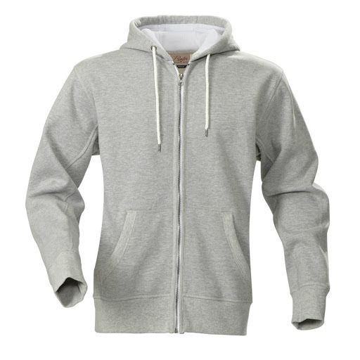 Printer Hooded Sweat Jacket