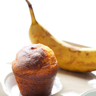 2 Ingredient Banana Muffins.