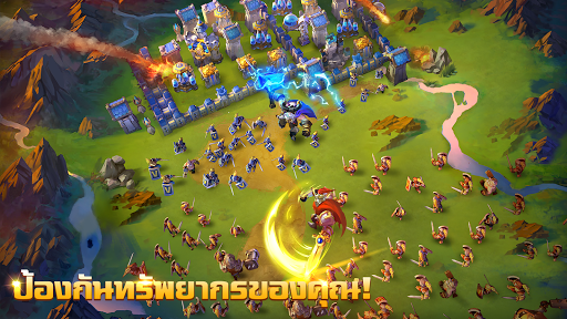Castle Clash: u0e40u0e2bu0e25u0e48u0e32u0e1cu0e39u0e49u0e01u0e25u0e49u0e32u0e2bu0e32u0e0d  screenshots 3