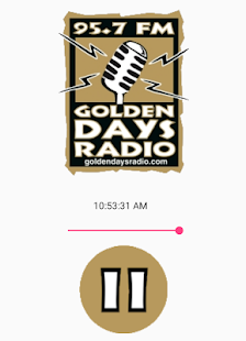 Golden Days Radio - náhled